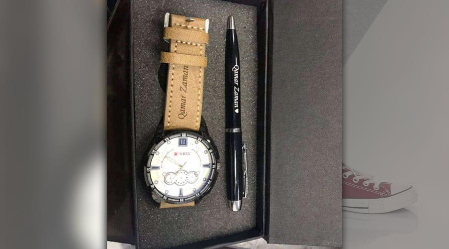 Customized Watch with Pen